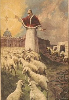 Pope Pius XII sheep
